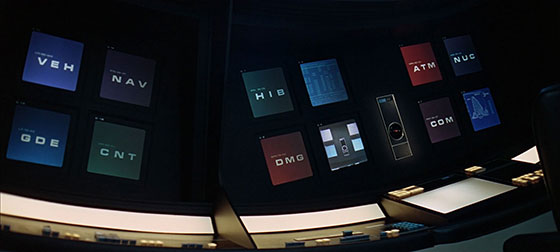 2001: A Space Odyssey (Eurostile Bold Extended, although it could be Microgramma)