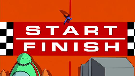 Futurama: 2D Blacktop (Eurostile Bold Extended)