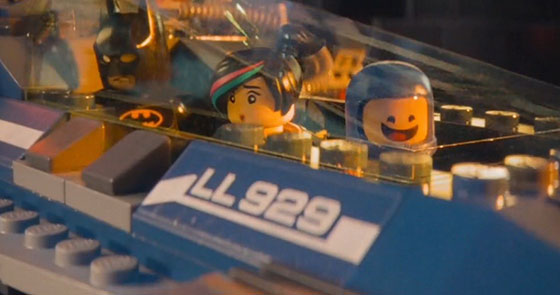 The LEGO Movie again (Eurostile Bold Extended, with a label of LL929 as a clear follow-on from the original LL928 Galaxy Explorer)