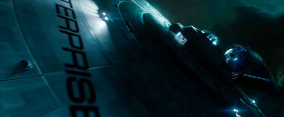 Star Trek: Into Darkness (Eurostile SemiBold Extended, maybe? It's hard to tell from this angle)